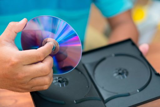 Possible option for sending large video files: DVD