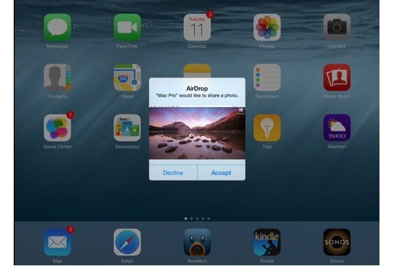 How to send large photo files from iPhone to Mac with AirDrop