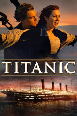 Watch 5 best movies of all time and send large video files online: Titanic