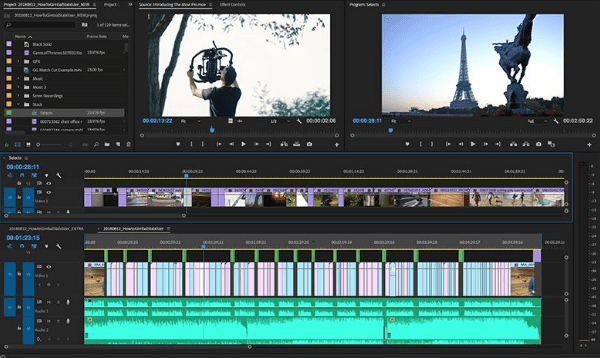 How to create new videos in Adobe Premiere Pro very quickly: stack timelines