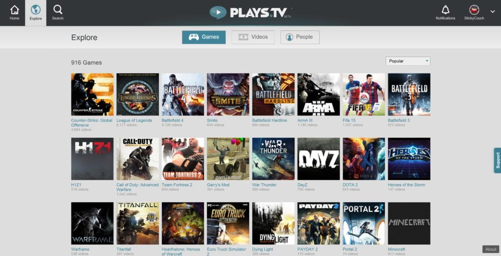 Looking for the best game recording software? Check out Plays.tv