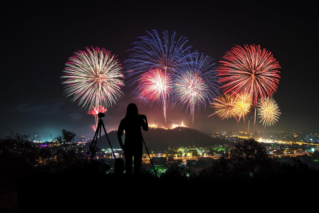 Easy steps for becoming a master in fireworks photography and learning the best way to send large files: choose the best place for taking photo