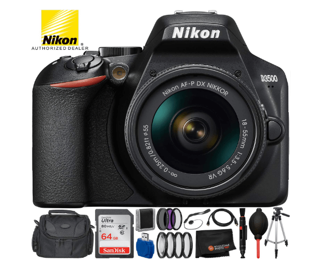 Are you a newbie to the world of photography and DSLRs? We are going to help with the most important choice - getting the first DSLR. Save money by buying Nikon D3500 and learn how to send large files with FileWhopper.