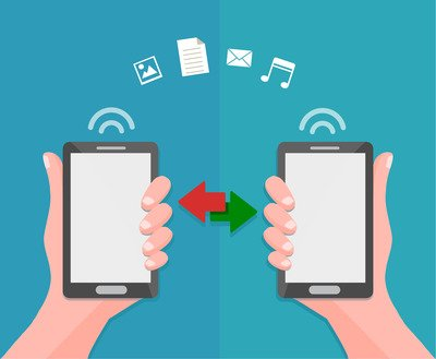 Read this article to find out how to transfer big files between smartphones.