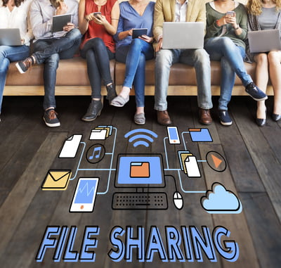"Need to send large files from your iPhone to non-iOS device? Facing the ""file too large"" issue? Use the SHAREit - Connect & Transfer app."