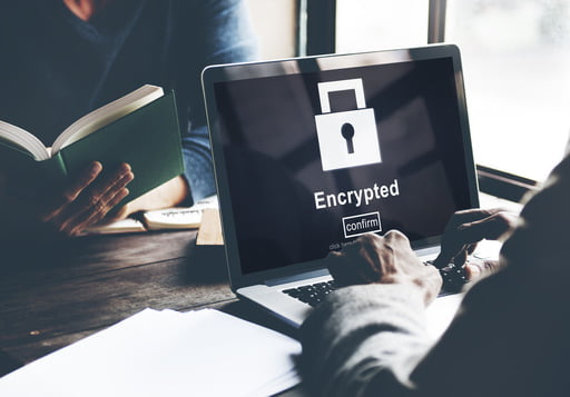 Data encryption algorithms ensure authentication, integrity, and non-repudiation.
