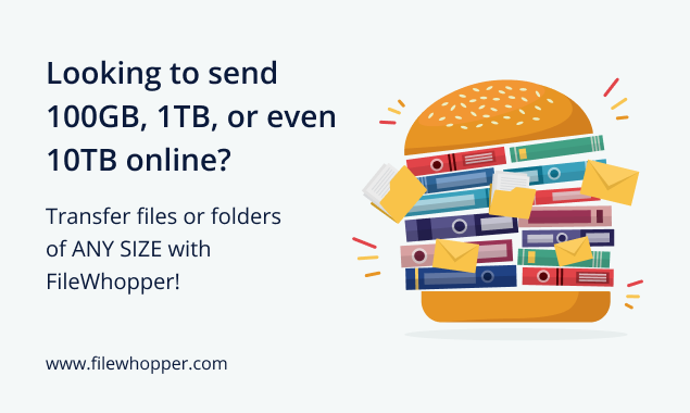 How to transfer files from PC to PC? Use FileWhopper.