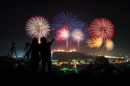 Many holidays are celebrated with fireworks. But how to take amazing fireworks photos? Keep reading to learn how to photograph fireworks like a pro all on your own.