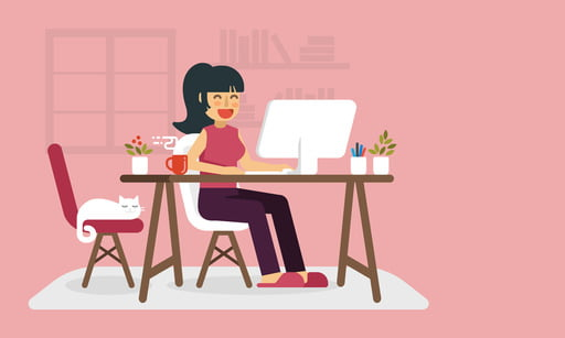 Here are the best work-from-home tips to help you get in the right frame of mind and have yourself a productive workday.