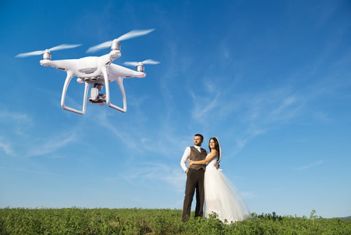 This article will help you to choose the best drone for wedding photography.